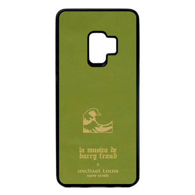 Harry Fraud x Michael Louis Pistachio Green Lambskin Galaxy S9 Case