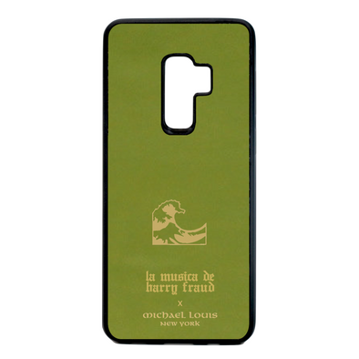 Harry Fraud x Michael Louis Pistachio Green Lambskin Galaxy S9 Plus Case