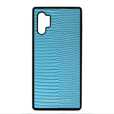 Light Blue Lizard Galaxy Note 10 Plus Case