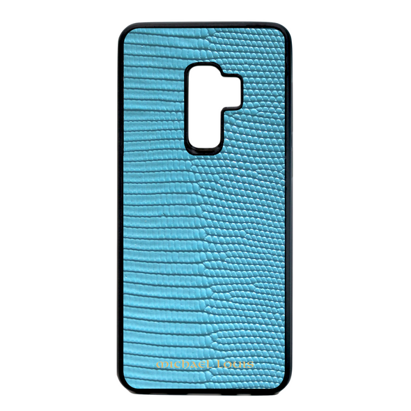 Light Blue Lizard Galaxy S9 Plus Case