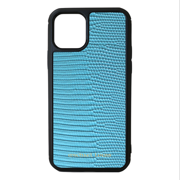 Light Blue Lizard iPhone 11 Pro Case