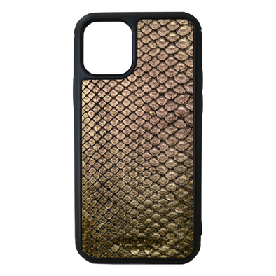 Gold Python Snakeskin iPhone 11 Pro Case