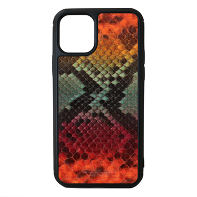 "Limited Edition Multicolor ""1"" Python Snakeskin iPhone 11 Pro Case"
