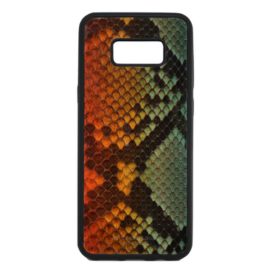 "Limited Edition Multicolor ""2"" Python Snakeskin Galaxy S8 Plus Case"