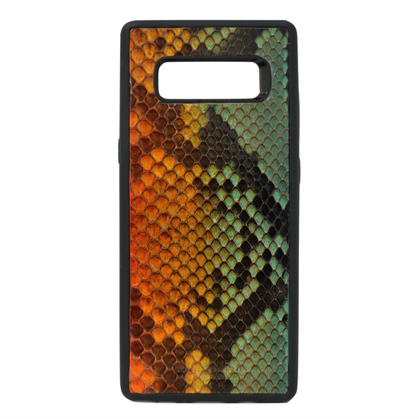 "Limited Edition Multicolor ""2"" Python Snakeskin Galaxy Note 8 Case"