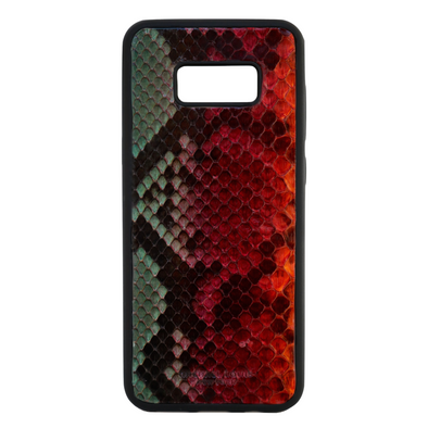 "Limited Edition Multicolor ""3"" Python Snakeskin Galaxy S8 Plus Case"