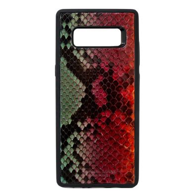 "Limited Edition Multicolor ""3"" Python Snakeskin Galaxy Note 8 Case"