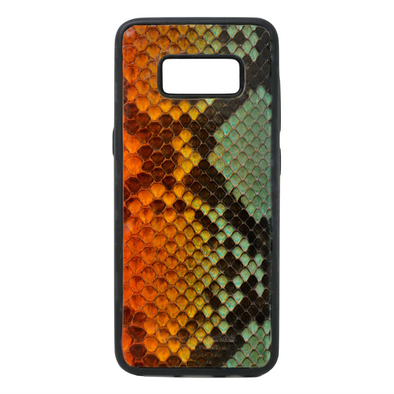 "Limited Edition Multicolor ""2"" Python Snakeskin Galaxy S8 Case"