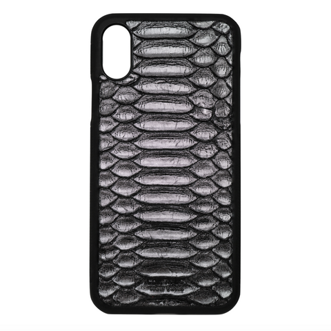 Limited Edition Silver Python iPhone X/XS Case