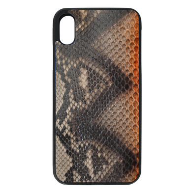 Limited Edition Sahara Python Snakeskin iPhone XS Max Case