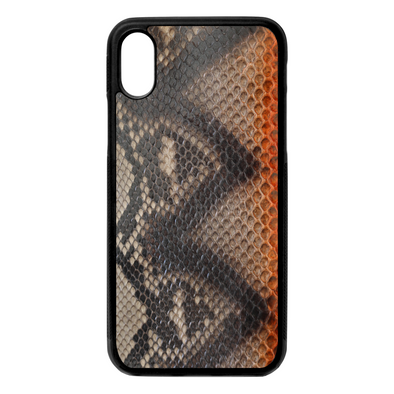 Limited Edition Sahara Python Snakeskin iPhone X/XS Case