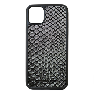 Silver Python Snakeskin iPhone 11 Pro Max Case
