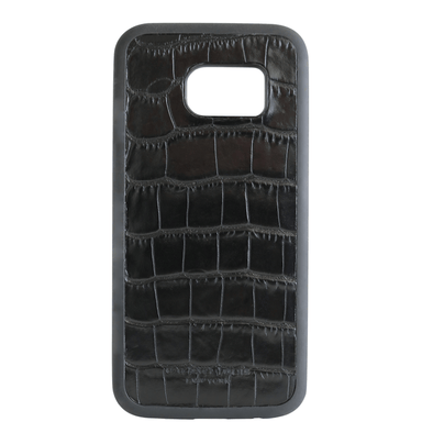 Black Croc Galaxy S7 Case