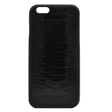 Black Ostrich iPhone 6/6S Case