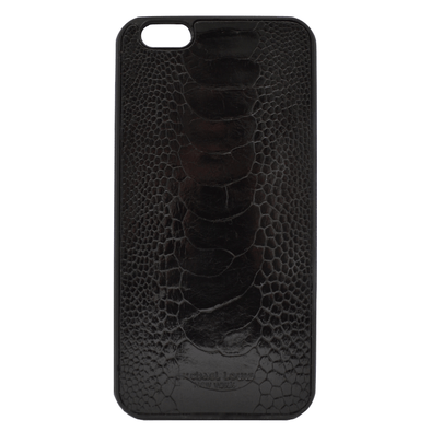 Black Ostrich iPhone 6/6S Plus Case