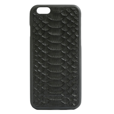 Genuine Black Python iPhone 6/6S Case