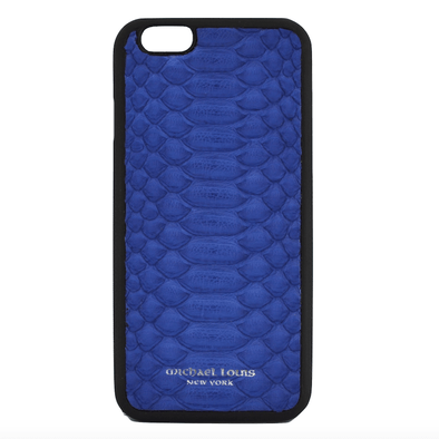 Blue Python iPhone 6/6S Case