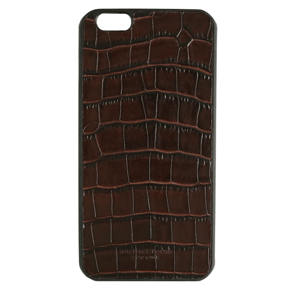 Brown Croc iPhone 6/6S Plus Case