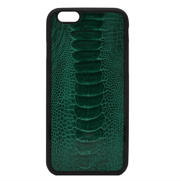 Green Ostrich iPhone 6/6S Case