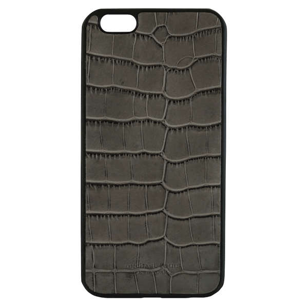 Grey Croc Embossed iPhone 6/6S Plus Case