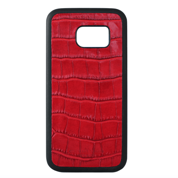 Red Croc Galaxy S7 Case