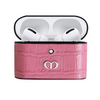 Pink Croc Airpods Pro Case