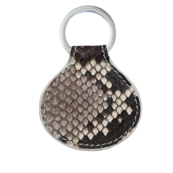 Natural Python Tag Key Holder