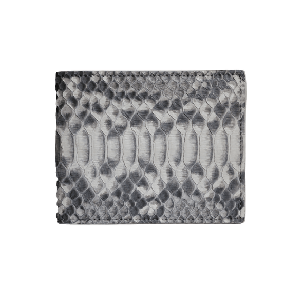 Natural Python Classic Bifold Wallet