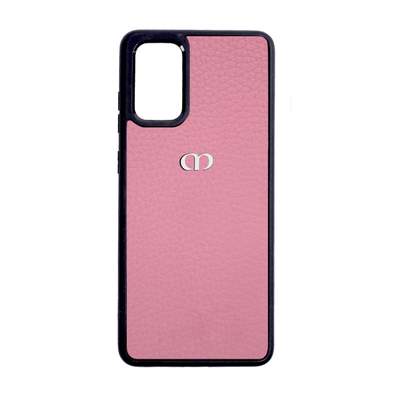 Pink Pebbled Leather Galaxy S20 Case