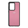 Pink Pebbled Leather Galaxy S20 Ultra Case
