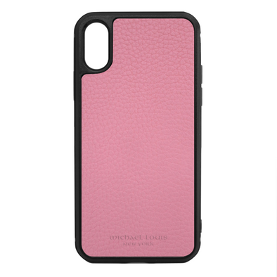 Pink Para Leather iPhone XS Max Case
