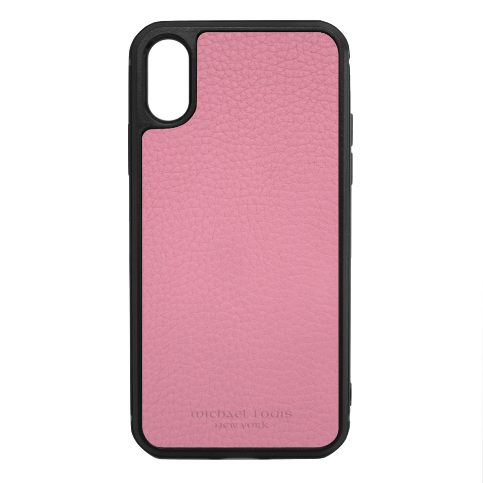 0551a4eb027 Pink Para Leather iPhone X/XS Case