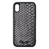 Limited Edition Silver Snakeskin iPhone XR Case