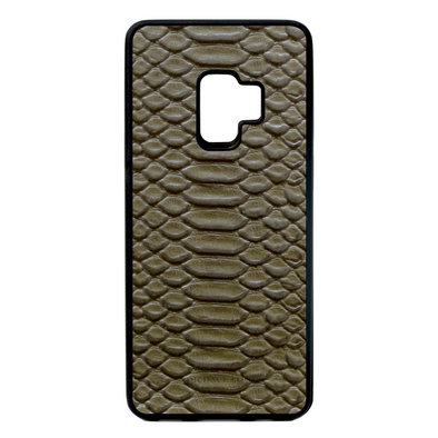 Olive Green Python Galaxy S9 Case