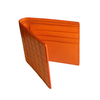 Orange Croc Classic Bifold Wallet