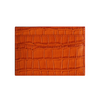 Orange Croc Classic Card Holder