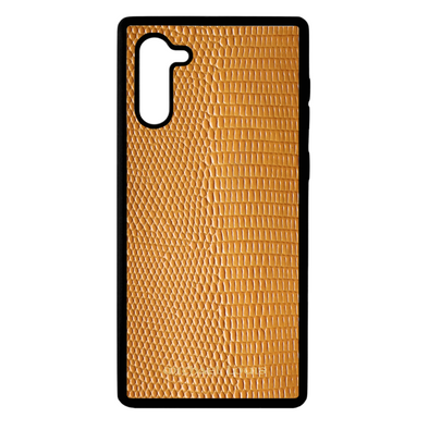 Orange Lizard Galaxy Note 10 Case