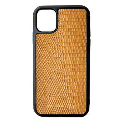 Orange Lizard iPhone 11 Case