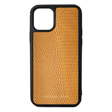 Orange Lizard iPhone 11 Pro Case