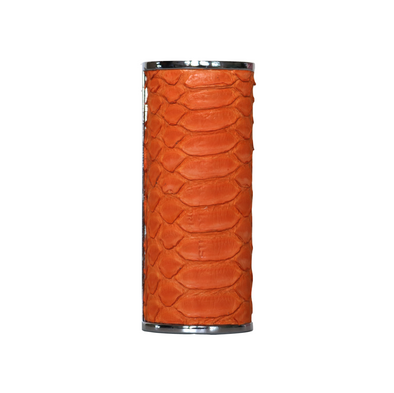 Genuine Orange Python Lighter Case