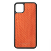 Orange Python Snakeskin iPhone 11 Pro Max Case