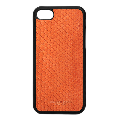 Orange Python Snakeskin iPhone 7 / 8 Case