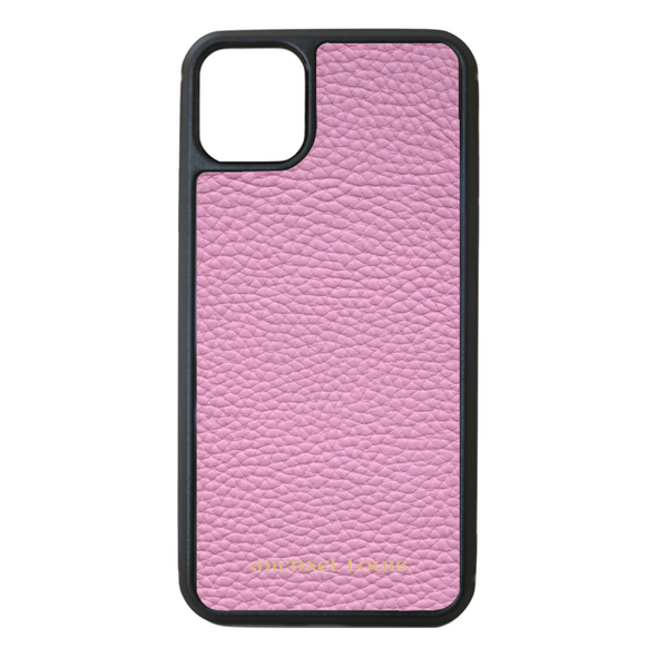 Pink Pebbled Leather iPhone 11 Pro Max Case