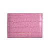 Pink Croc Classic Card Holder
