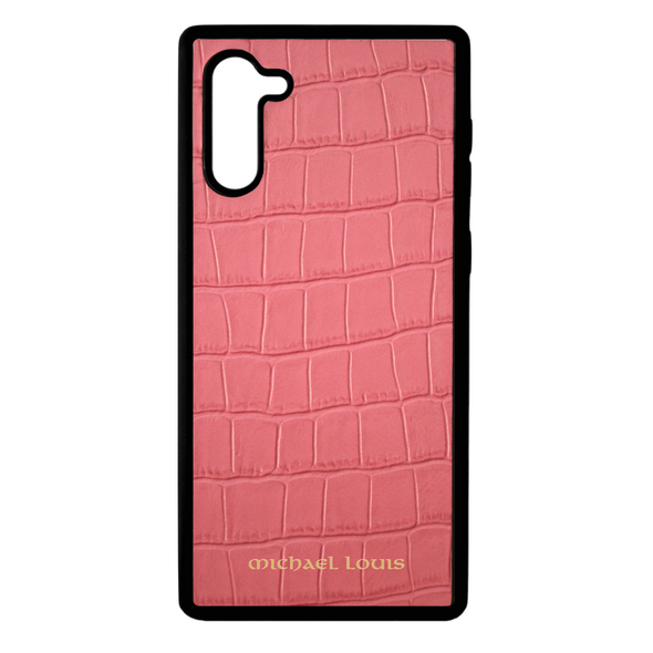 Pink Croc Galaxy Note 10 Case