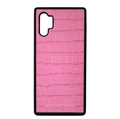 Pink Croc Galaxy Note 10 Plus Case