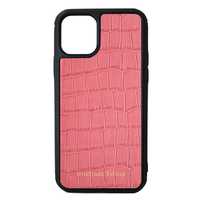 Pink Croc iPhone 11 Pro Case