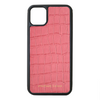 Pink Croc iPhone 11 Pro Max Case