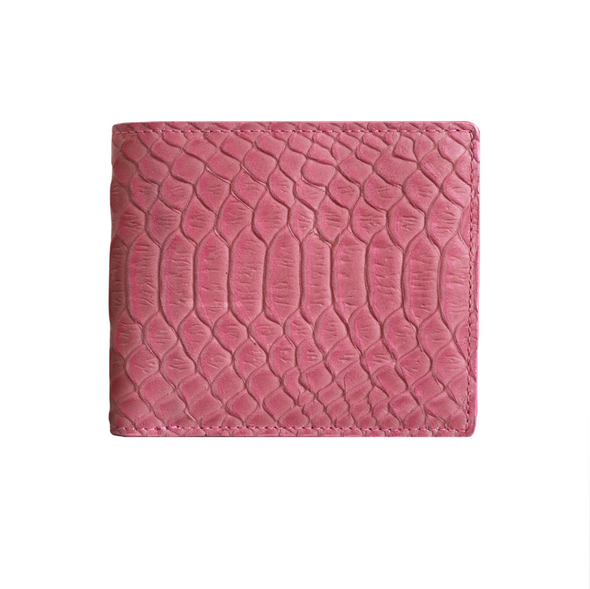 Pink Python Classic Bifold Wallet