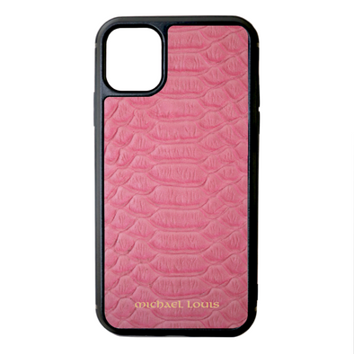 Pink Python iPhone 11 Case